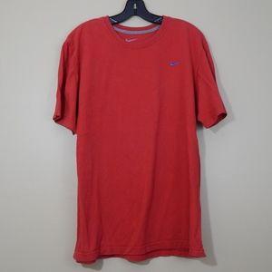 Men's Red Nike Short Sleeve T Shirt XL